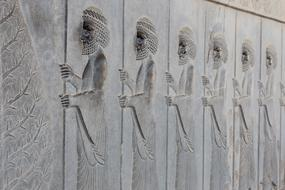 Persepolis Iran Ancient persons
