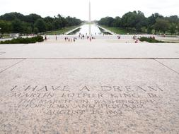 Martin Luther King stone