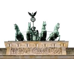 photo of the chariot at the Brandenburg Gate, Berlin