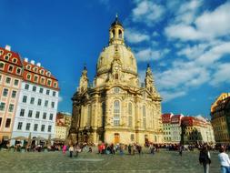 wonderful Cathedral Church dresden