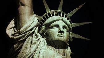Statue Of Liberty Lady face