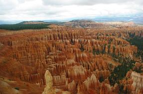 Bryce Canyon red stone
