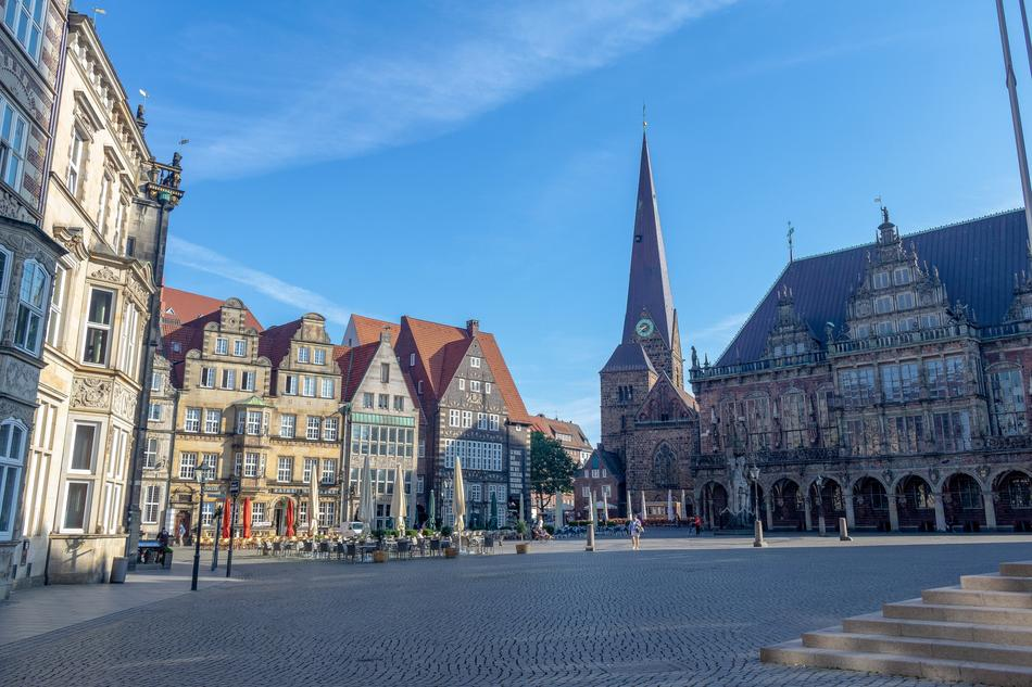 Historic Center Places Of Bremen