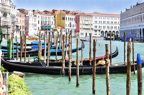 unusually beautiful Venice Grand Canal Water
