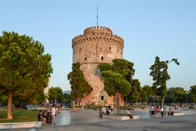 ravishing Thessaloniki red Tower