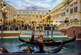 Venetian Gondolas people