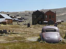Bodie California old car