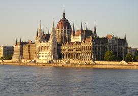 House Of Parliament Hungary and river