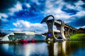 Falkirk Wheel Canal water