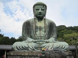 Buddha Statue forest