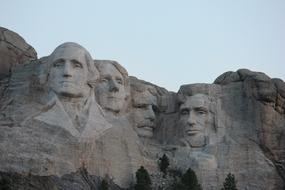 Mount Rushmore Tourist