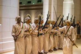 Oman Opera Guard people