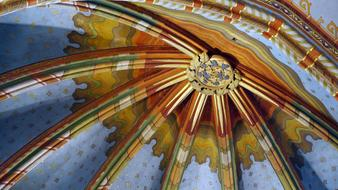 Matthias Church Ceiling roof