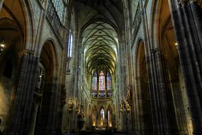 spiritual atmosphere of a cathedral