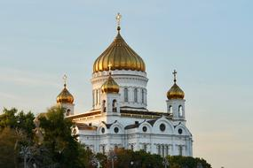 The Cathedral of Christ the Saviour is a Russian Orthodox cathedral in Moscow, Russia