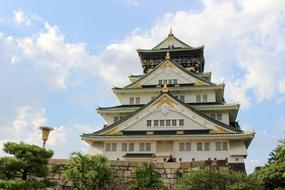 magnificent Osaka Castle