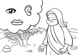 bible moses ccx story drawing
