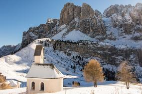 South Tyrol Dolomites Chapel