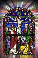 Stained Glass Religious Christian drawing
