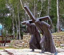 Stations Of The Cross statue