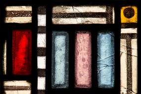 color church window