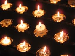 beautiful Candles Cathedral