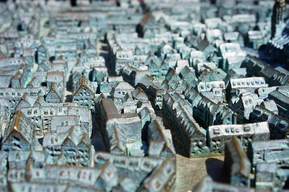 Relief City Ulm relief