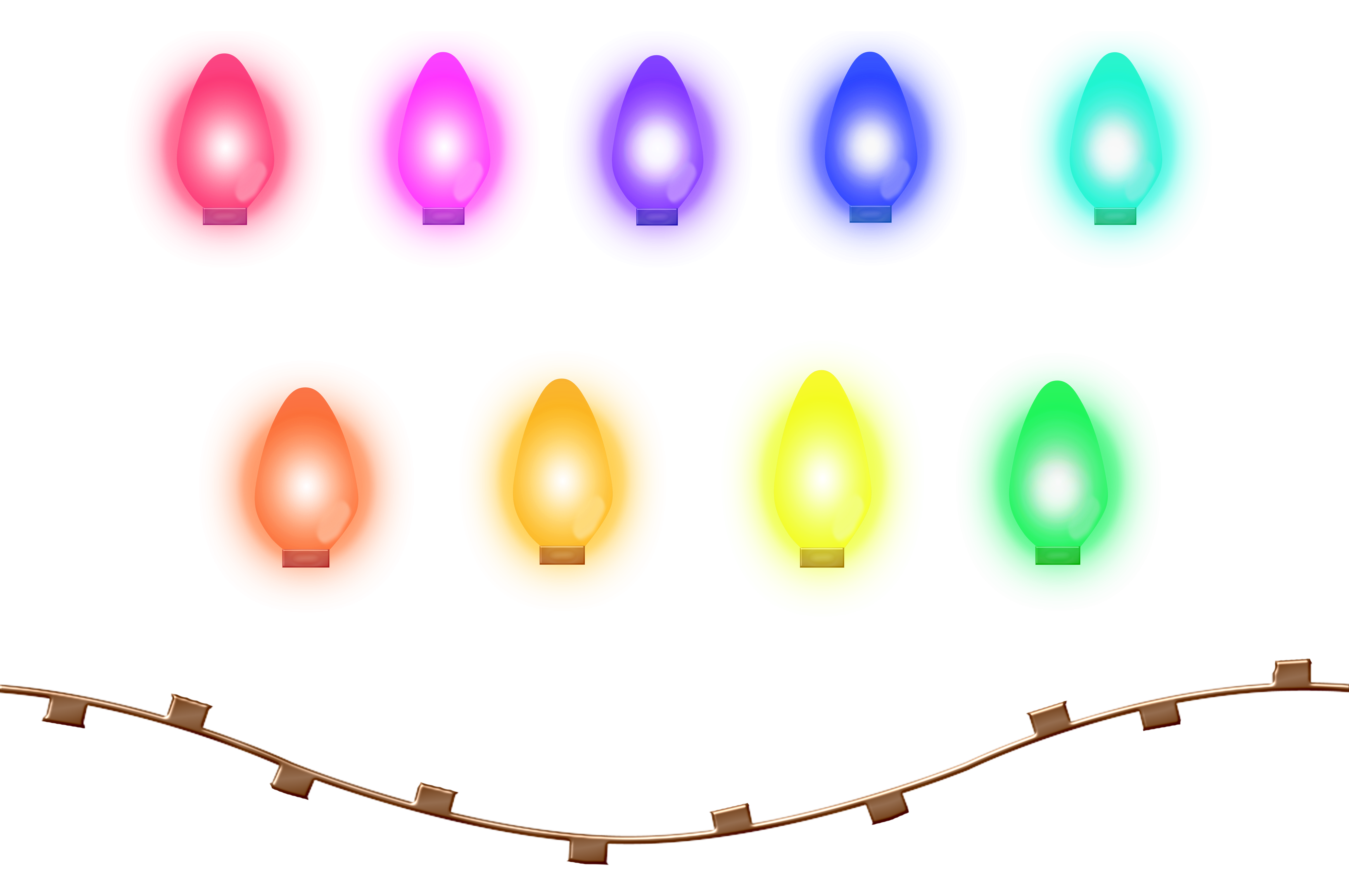 christmas lights colors drawing free image https pixy org licence php
