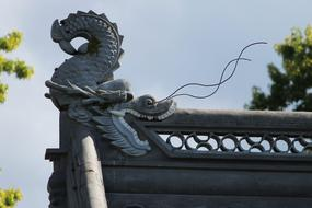 Chinese Dragon stone