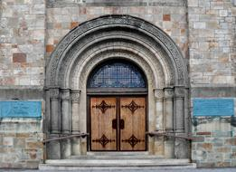 Plymouth Massachusetts Church Door