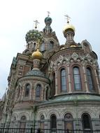 St Petersburg Russia Historically church
