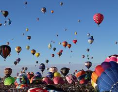 Hot Air Balloons Floating Fun