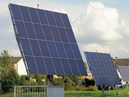 solar panels installed in Kassel, Germany