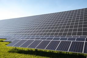 photovoltaic panels of power generation