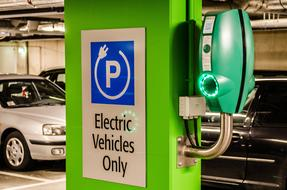 Electric Parking Vehicle sign