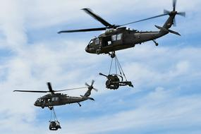 Uh-60 Black Hawk Helicopters