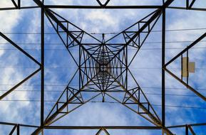 Pylon Electricity sky
