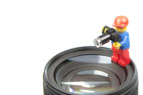 Lens Photo Studio lego man