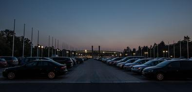 Blue Hour Parking