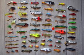Fishing Rod Hooks colors