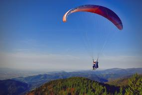 free soaring paragliders