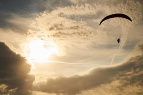 Parachute Fly Paragliding