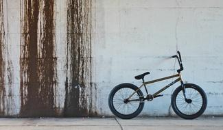 Bmx Bikes Metal and wall