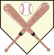 baseball plate sports game drawing