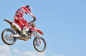 Dirt Bike Motocross sky