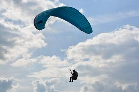 funny paragliding
