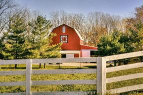 red Rustic Barns