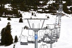 Chairlift Goes Up