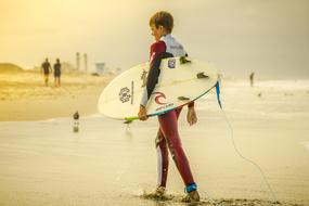 boy Surfer sea