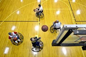 disabled Basketball Court